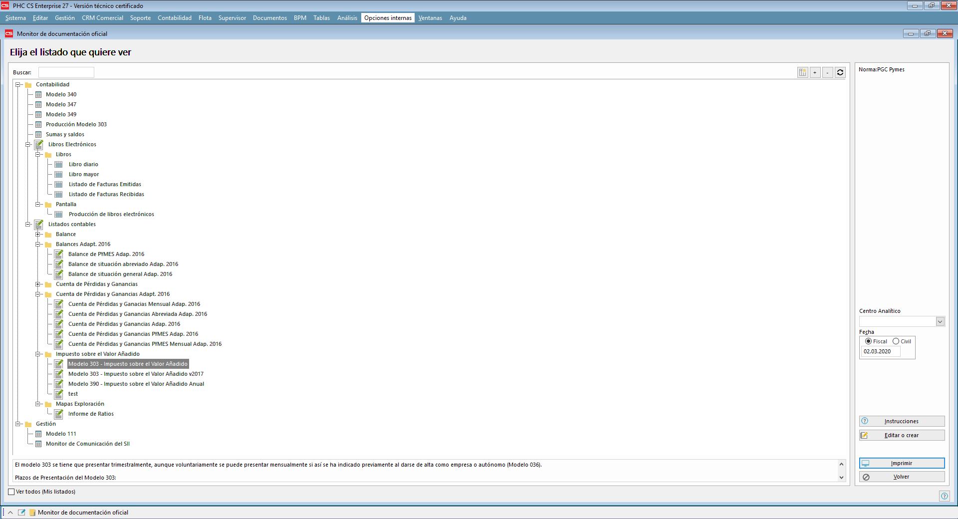 Software PHC CS