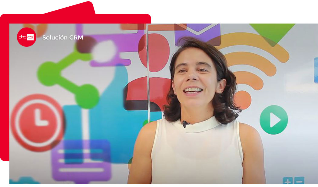 Portada para el video de solucion del software de gestión para CRM
