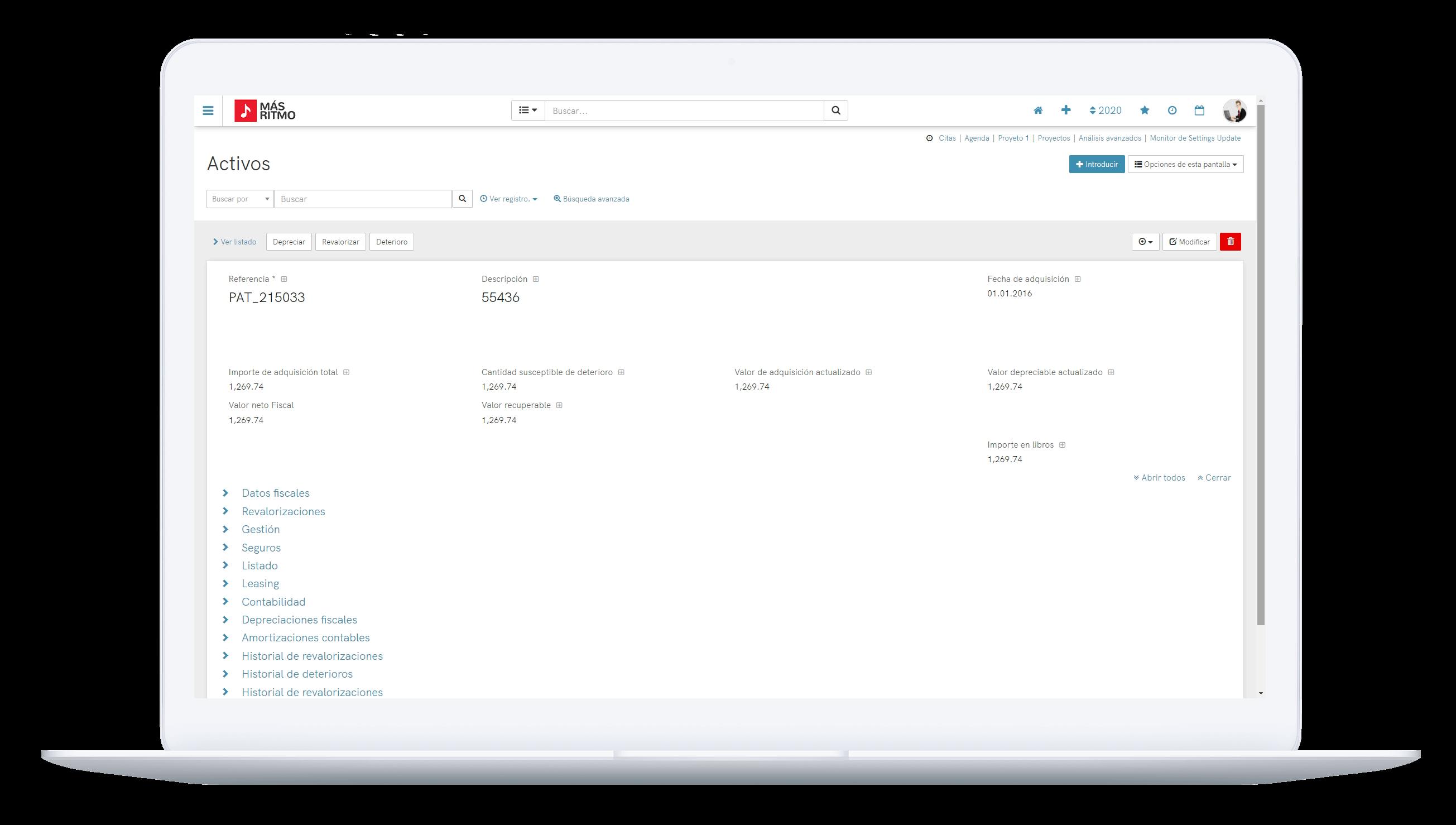 El Software PHC CS